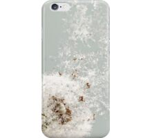 Meshed Up Dandelion iPhone Case/Skin