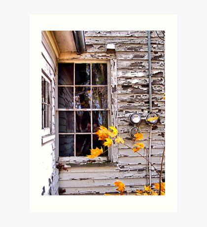 Autumn's Quiet Reflections Art Print