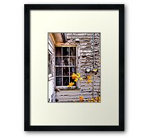 Autumn's Quiet Reflections Framed Print