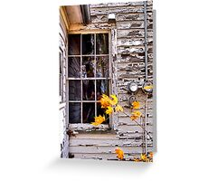 Autumn's Quiet Reflections Greeting Card