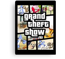 Grand Theft Show Canvas Print