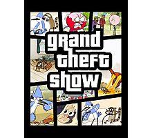 Grand Theft Show Photographic Print