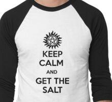 Keep calm and get the salt - light Men's Baseball ¾ T-Shirt