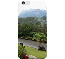 Scenic Mount Kinabalu National Park Mountain View iPhone Case/Skin