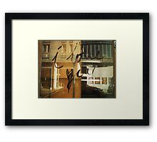 Traces of Love Framed Print