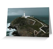 South Stack Lighthouse, Isle of Anglesey Greeting Card