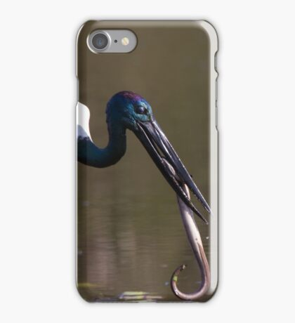 Stork vs Eel iPhone Case/Skin