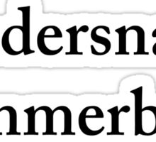 Bandersnatch Cummerbund Sticker