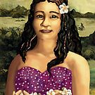 Moana Lisa  Pacific Island girl by goanna