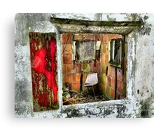 Haven Dressed in Red Canvas Print