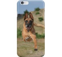 Dog leaping iPhone Case/Skin