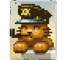 AQUA KITTY - Captain cat iPad Case/Skin