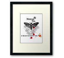 Moriar Tea 5 Framed Print