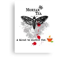 Moriar Tea 5 Canvas Print