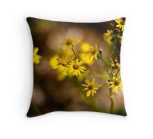 Simple Yet Beautiful Weeds Throw Pillow