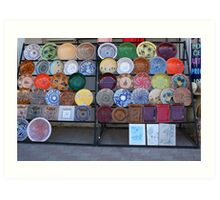 Pottery for Sale Art Print