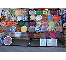 Pottery for Sale Photographic Print