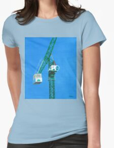 The Crane Womens Fitted T-Shirt