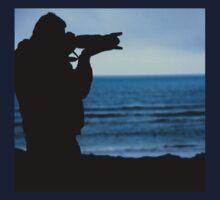 Photographer Silhouette One Piece - Long Sleeve