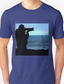 Photographer Silhouette Unisex T-Shirt