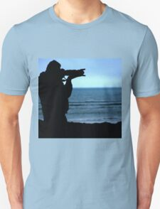 Photographer Silhouette Unisex T-Shirt