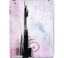 Santa Monica Pier Pink Grunge iPad Case/Skin