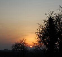 Lincolnshire Sunset by Robert Redman