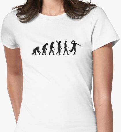 Evolution Dodgeball Womens Fitted T-Shirt