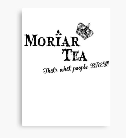 Moriar Tea 3 Canvas Print
