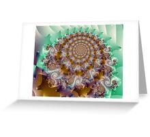 autumngirl Image1- Exquisite Sepia + Parameter Greeting Card