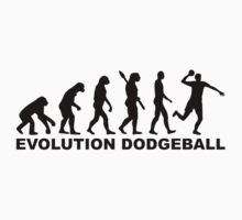 Evolution Dodgeball Baby Tee