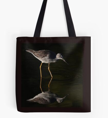 Greater Yellowlegs Reflects Tote Bag