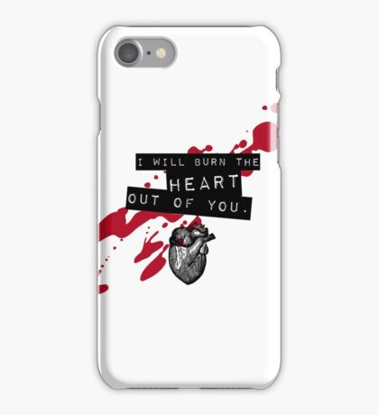 Moriarty - Heart iPhone Case/Skin