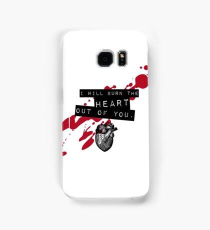 Moriarty - Heart Samsung Galaxy Case/Skin