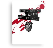 Moriarty - Heart Metal Print