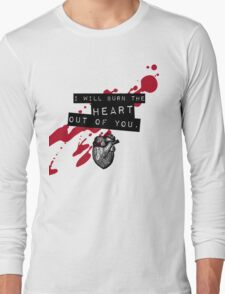 Moriarty - Heart Long Sleeve T-Shirt