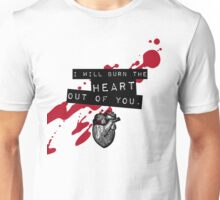 Moriarty - Heart Unisex T-Shirt