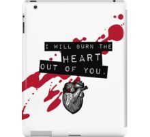 Moriarty - Heart iPad Case/Skin
