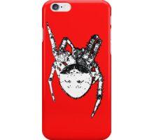Cat Face Spider  iPhone Case/Skin