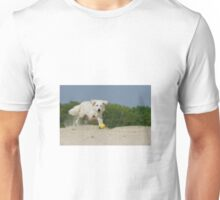 Dog Playing Unisex T-Shirt