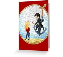 Captain Swan Greeting Card