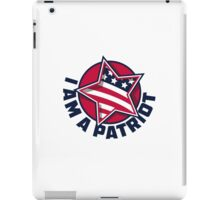 I Am a Patriot iPad Case/Skin