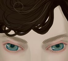 Sherlock's Eyes by punkypeggy