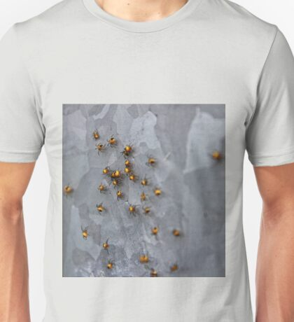 Abseiling Spiders  Unisex T-Shirt