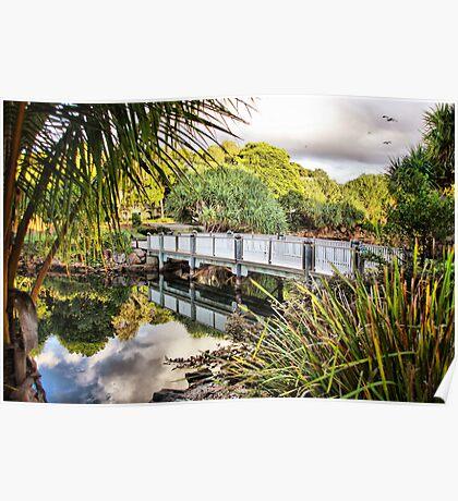 Twin Waters - Sunshine Coast, QLD Poster