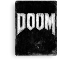 Doom Grunge Canvas Print