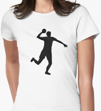 Dodgeball Womens Fitted T-Shirt