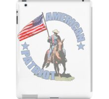 American Patriot Horseman  iPad Case/Skin