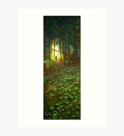 White Bear Forest Nature Trail Art Print