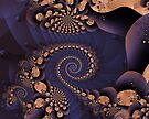 """Forwards & Backwards (""""Exquisite-sepia"""" step-03jrf) by viennablue"""